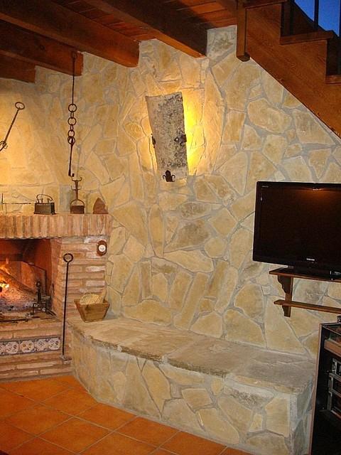 Loseta revestimientos interiores - Revestimientos de piedra interiores ...